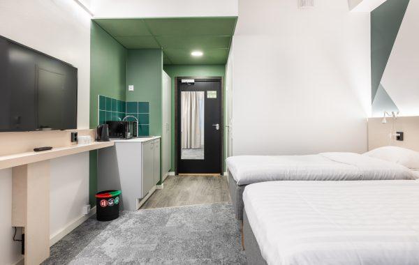 Green Large Triple Room (Vaasa)